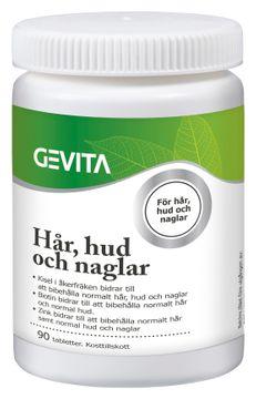 Budgetprodukten: Gevita Hår, hud och naglar