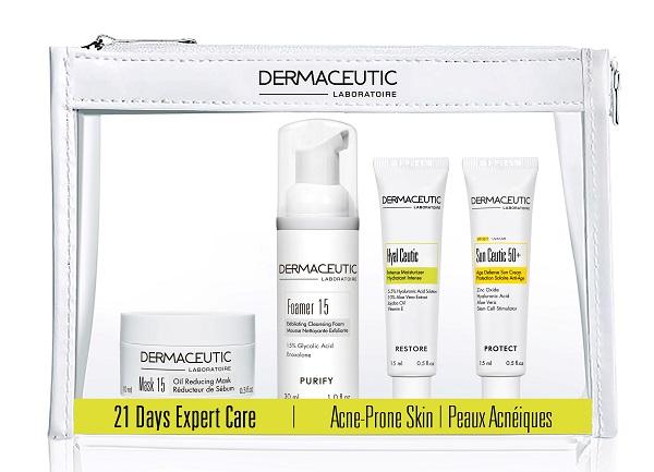Mellanprodukten: Dermaceutic 21 Days Expert Care Kit Acne Prone Skin