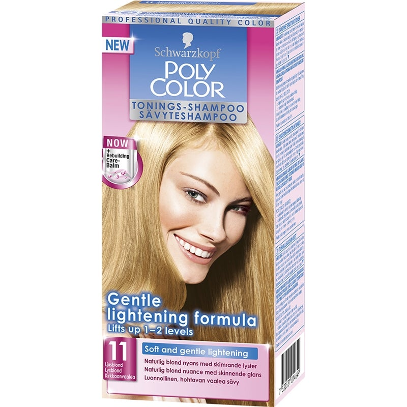 Budgetprodukten: Schwarzkopf Poly Color 11 Ljusblond