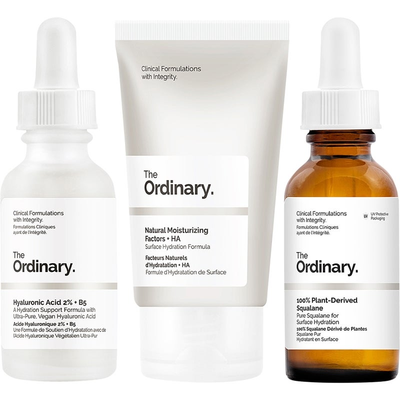 Budgetprodukten: The Ordinary. Dehydration Skin Care Set