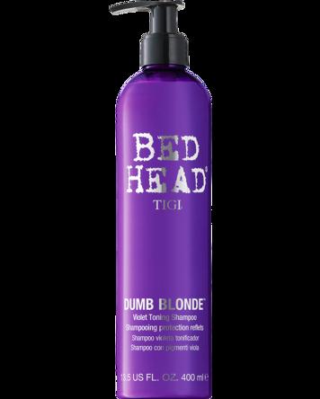 Budgetprodukten: Tigi Bed Head Dumb Blonde Purple Toning Shampoo