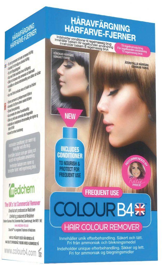 Drömprodukten: ColourB4 Haircolour Remover Frequent Use