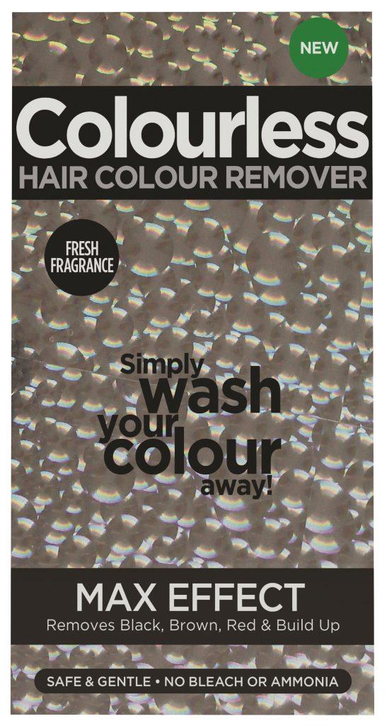Mellanprodukten: Colourless Haircolour Remover Max Effect