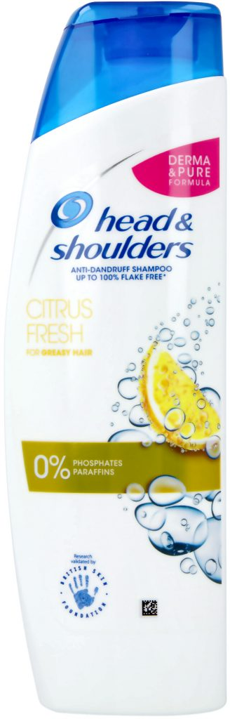 Budgetprodukten: Head & Shoulders Anti-Dandruff Shampoo Citrus Fresh