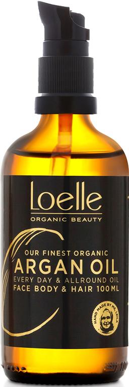 Mellanprodukten: Loelle Arganolja Flaska med pump 100 ml