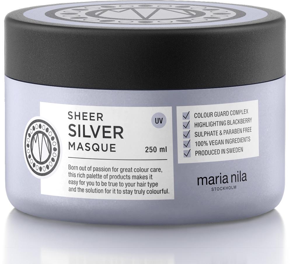 Mellanprodukten: maria nila Sheer Silver Masque