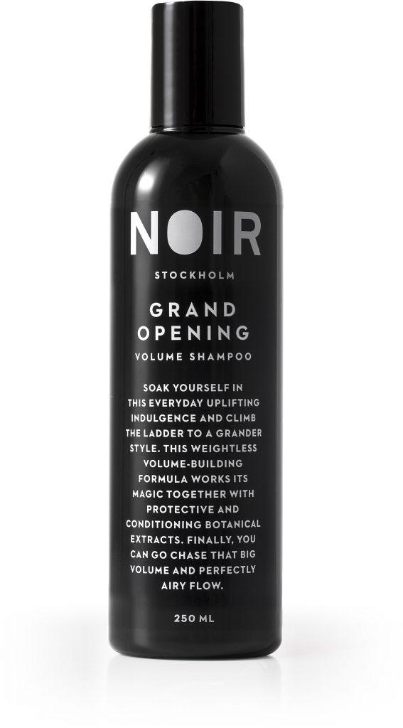 Specialaren: NOIR Stockholm Grand Opening - Volume Shampoo
