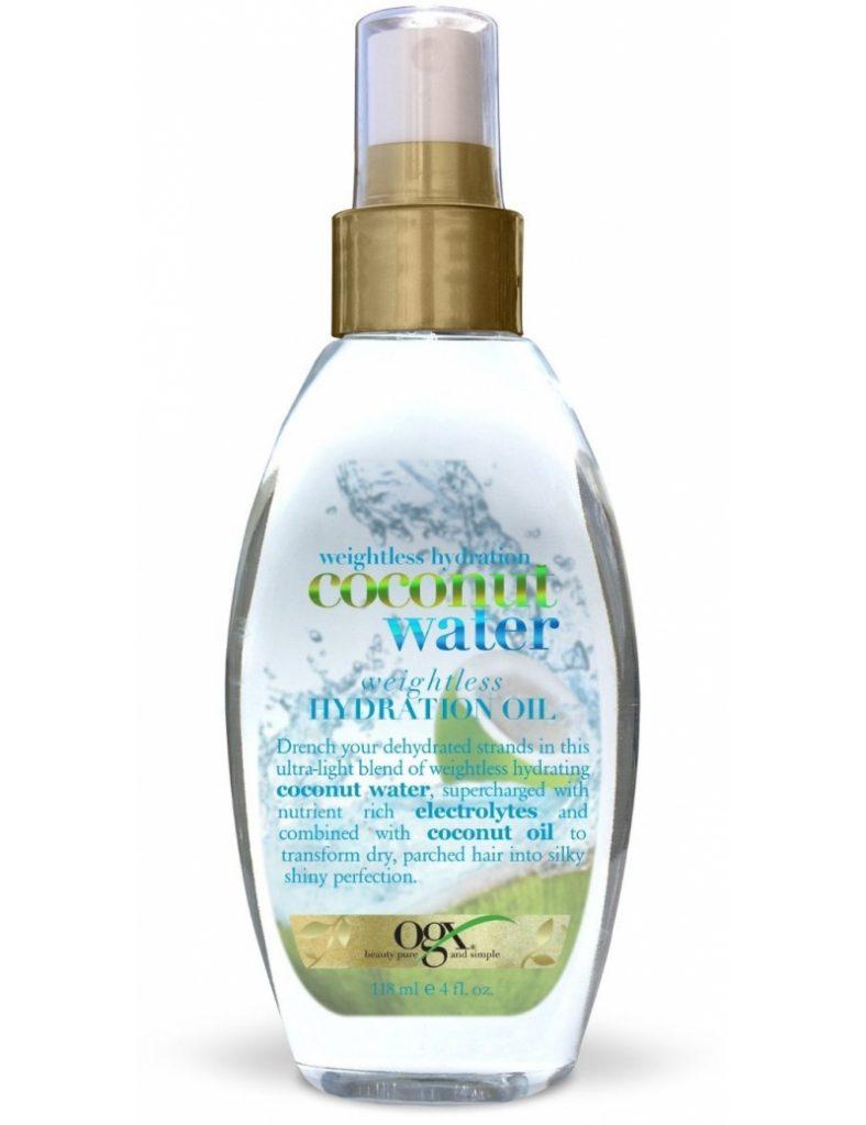 Budgetprodukten: Ogx Coconut Water Hydration Oil