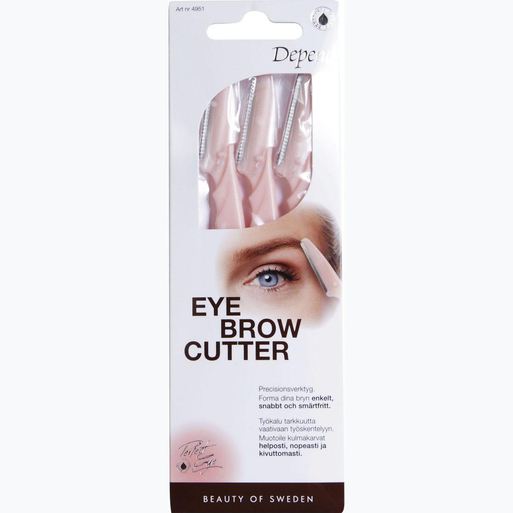 Budgetprodukten: Depend Perfect Eye Eyebrow Cutter