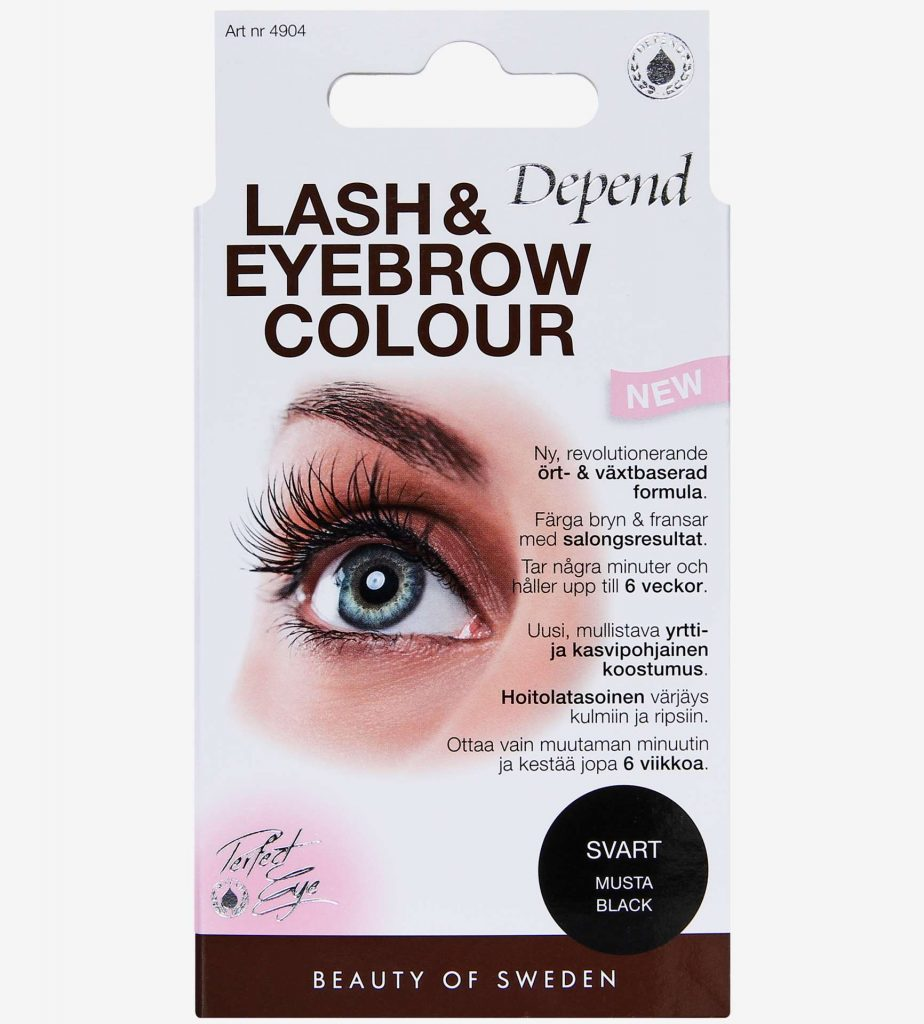 Specialaren: Depend Lash and Eyebrow Colour Black