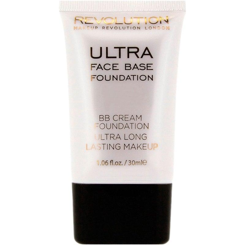 Budgetprodukten: Makeup Revolution Ultra Face Base Foundation BB Cream Foundation Ultra Long Lasting Makeup, 14 Dark Tone