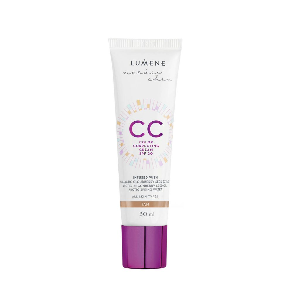 Budgetprodukten: Lumene CC Color Correcting Cream SPF 20 Tan