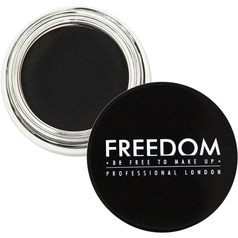 Budgetprodukten: Freedom Makeup London Pro Brow Pomade Granite