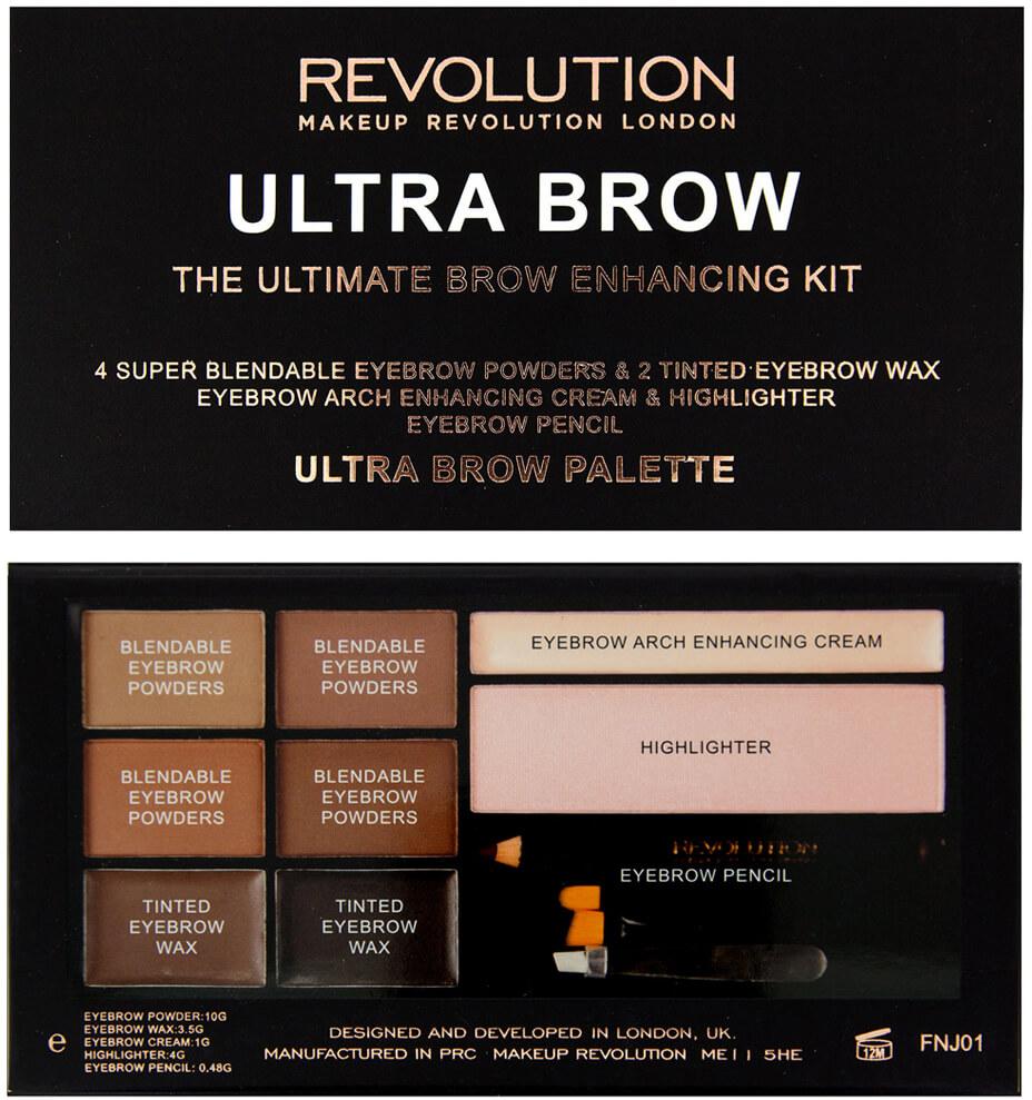 Makeup Revolution Ultra Brow Medium to Dark
