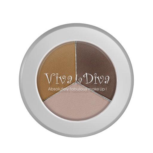 Viva La Diva Trio Eyebrow Shadow