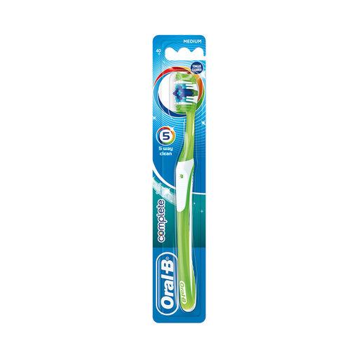 Oral-B Complete 5 Way Clean Manuell Tandborste Medium